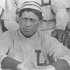 "Nicknamed ""The Deerfoot of the Diamond,"" Louis Sockalexis, a Penobscot Indian, was one of the first  professional players with Native American ancestry. Historical photo."
