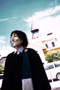"""""""Guy Fawkes in Technicolor"""" by Pittaya Sroilong"""