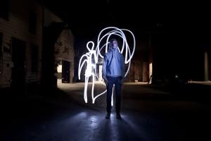 """Digital Design: Light Painting"" from Vancouver Film School"