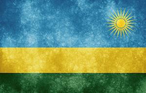 Rwanda Flag via freestock.ca