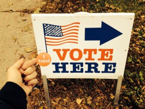 I Voted Photo courtesy Letta Page