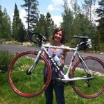 Tina Pittman Wagers finished a triathlon six weeks ago.