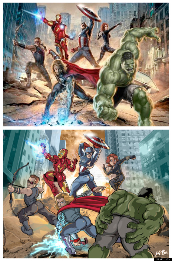 The Avengers Comic Book Movie