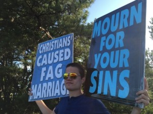 Christians Caused Fag Marriage Isaiah Phelps-Roper