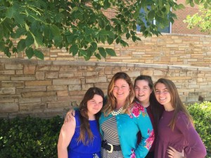 Dr. Jennifer Shewmaker with her daughters