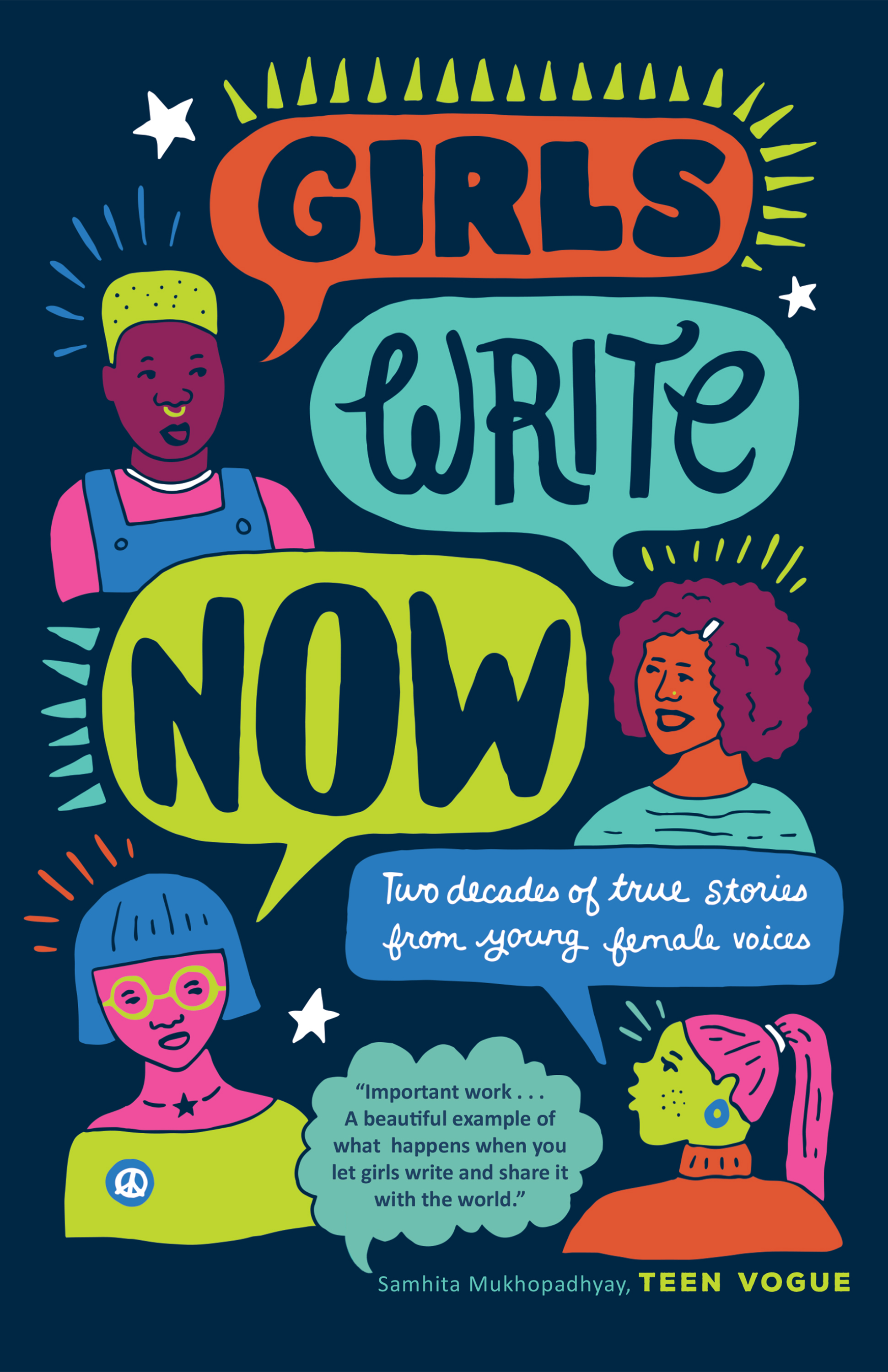 df3f70af48 I've had the honor of editing five annual-anthologies for Girls Write Now.  Today's next generation of women writers are alright, and their stories are  ...