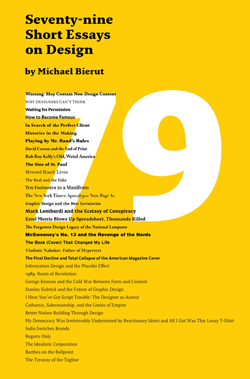 79 Short Essays on Design by Michael Beirut