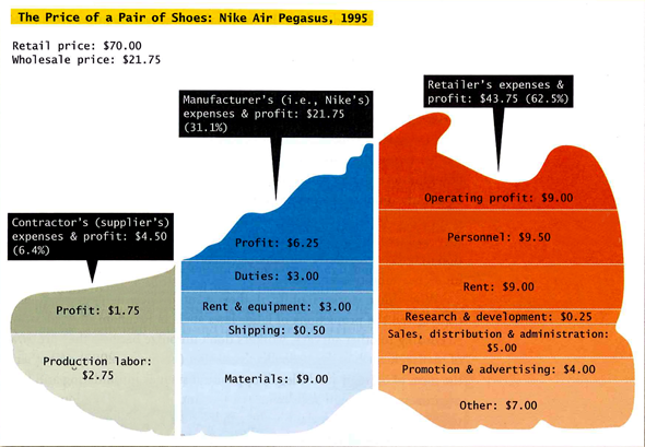 The Price of a Pair of Nike's in 1995 (Conley, 2008)