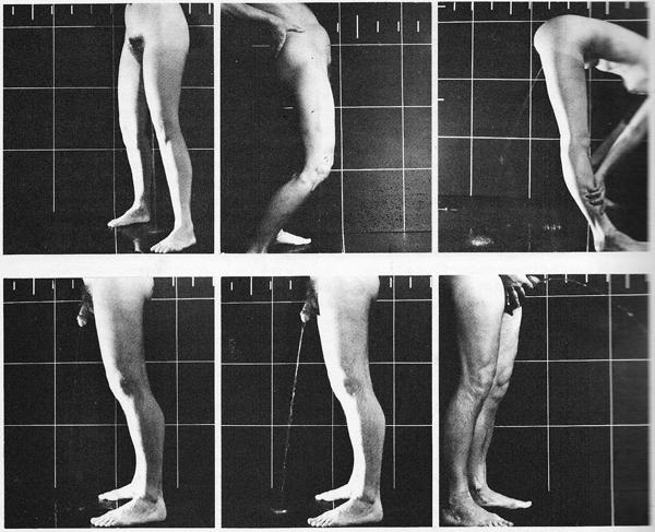 Kira Alexander. (1976)  The Bathroom.  Urine Trajectories