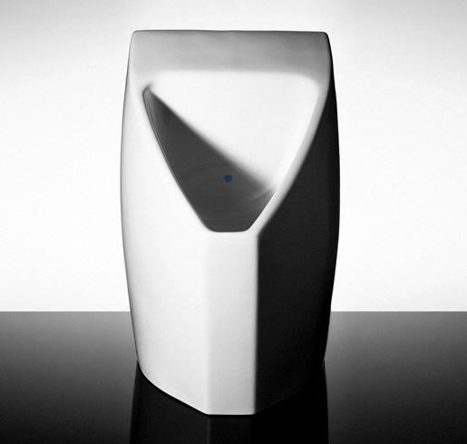 Falcon Waterfree Technologies Waterless Urinal | Photo by Dan Krug