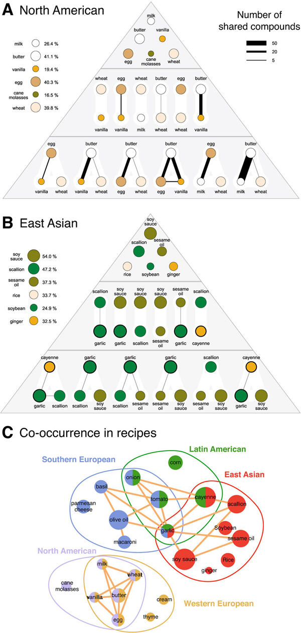 Flavor authenticity pyramids by ethnicity of cuisine | Ahn, Ahnert, et al