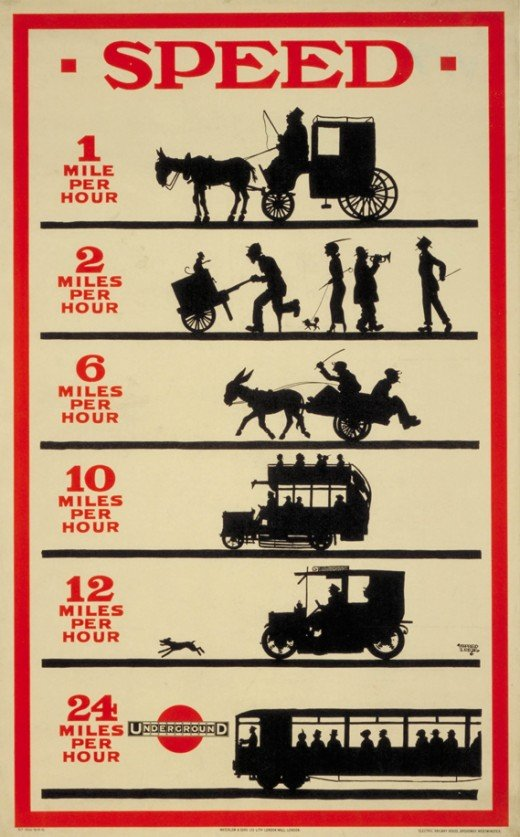 London Underground Ad 1915