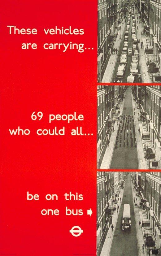 London Underground Ad 1969