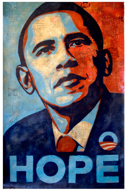 Shepard Fairey - HOPE