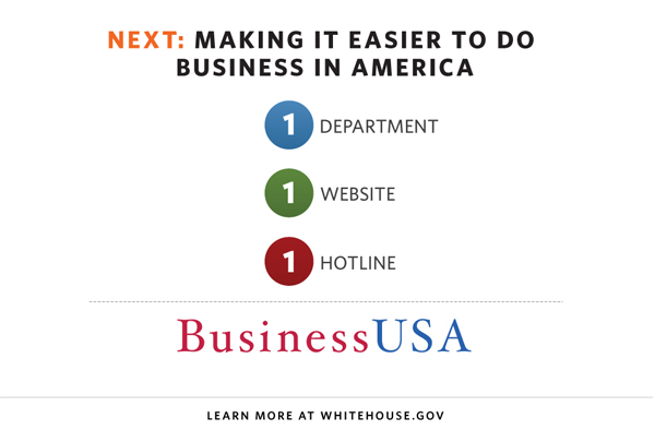BusinessUSA initiative aims to make it easier for businesses to interact with the US Federal government