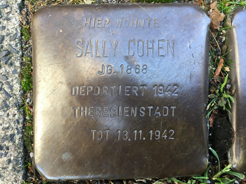 A Stolperstein (Stumbling Stone) In My Hometown and What It Means To Me Today - Center for Holocaust & Genocide Studies