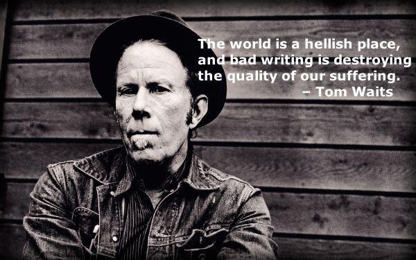 Tom Waits on Writing