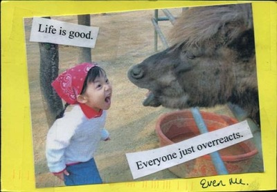 life is good postcard
