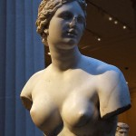 nude bust statue