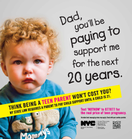 A campaign which encourages teens