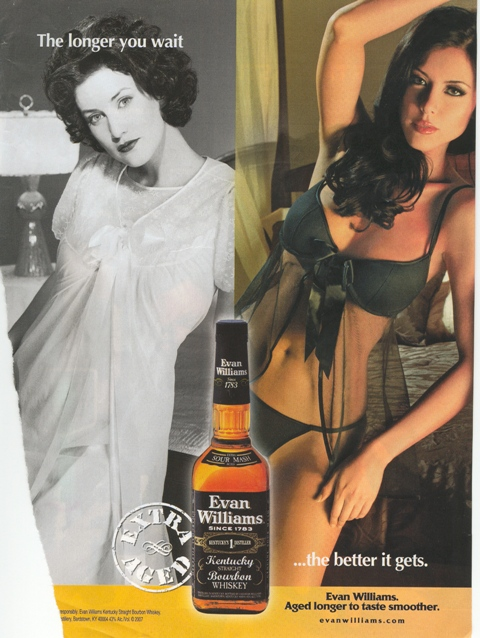 themes of sexuality in an evan williams bourbon whiskey print ad We feature a wide selection of evan williams whiskey and related items evan williams single barrel bourbon print ad 2000 whiskey of year 1999 tennis theme ad.