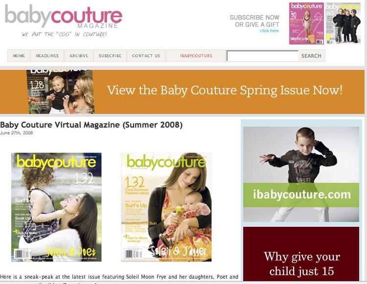 Fashion Couture Magazine The Magazine Features Fashion