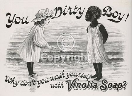 Vintage ads depict african americans as dirty sociological images