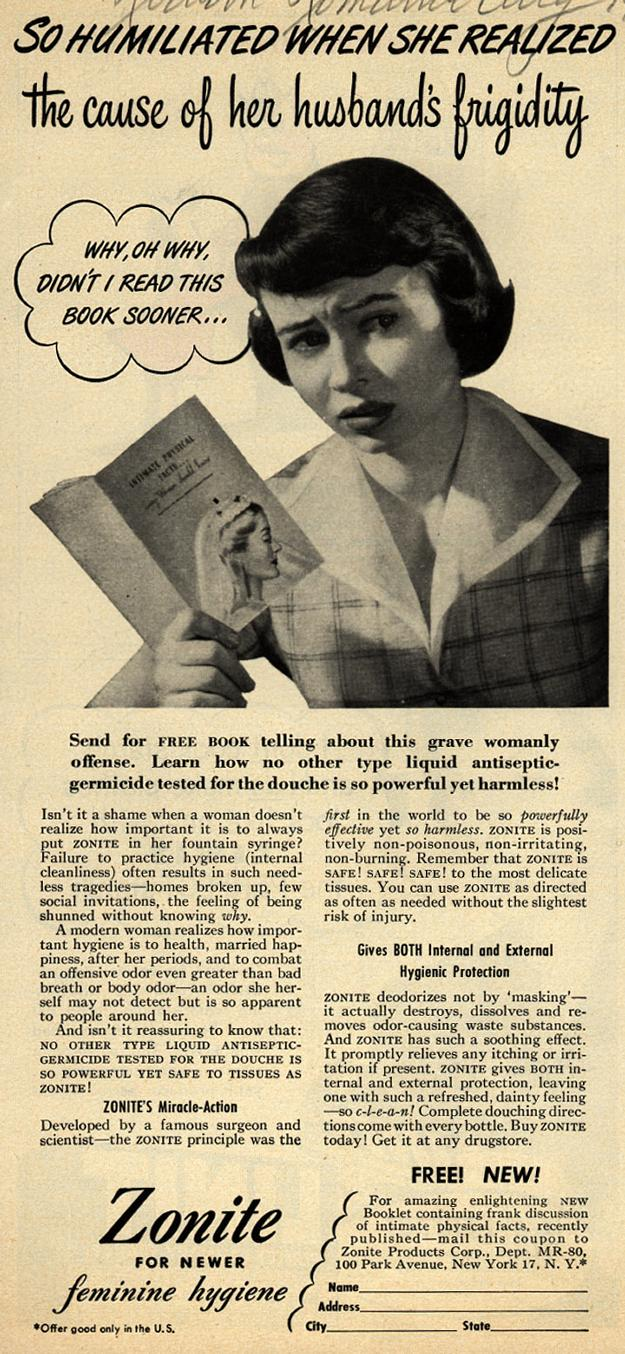 When Women Used Lysol as Birth Control   Mother Jones