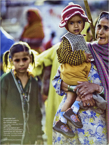 Privilege and Poverty in Vogue India