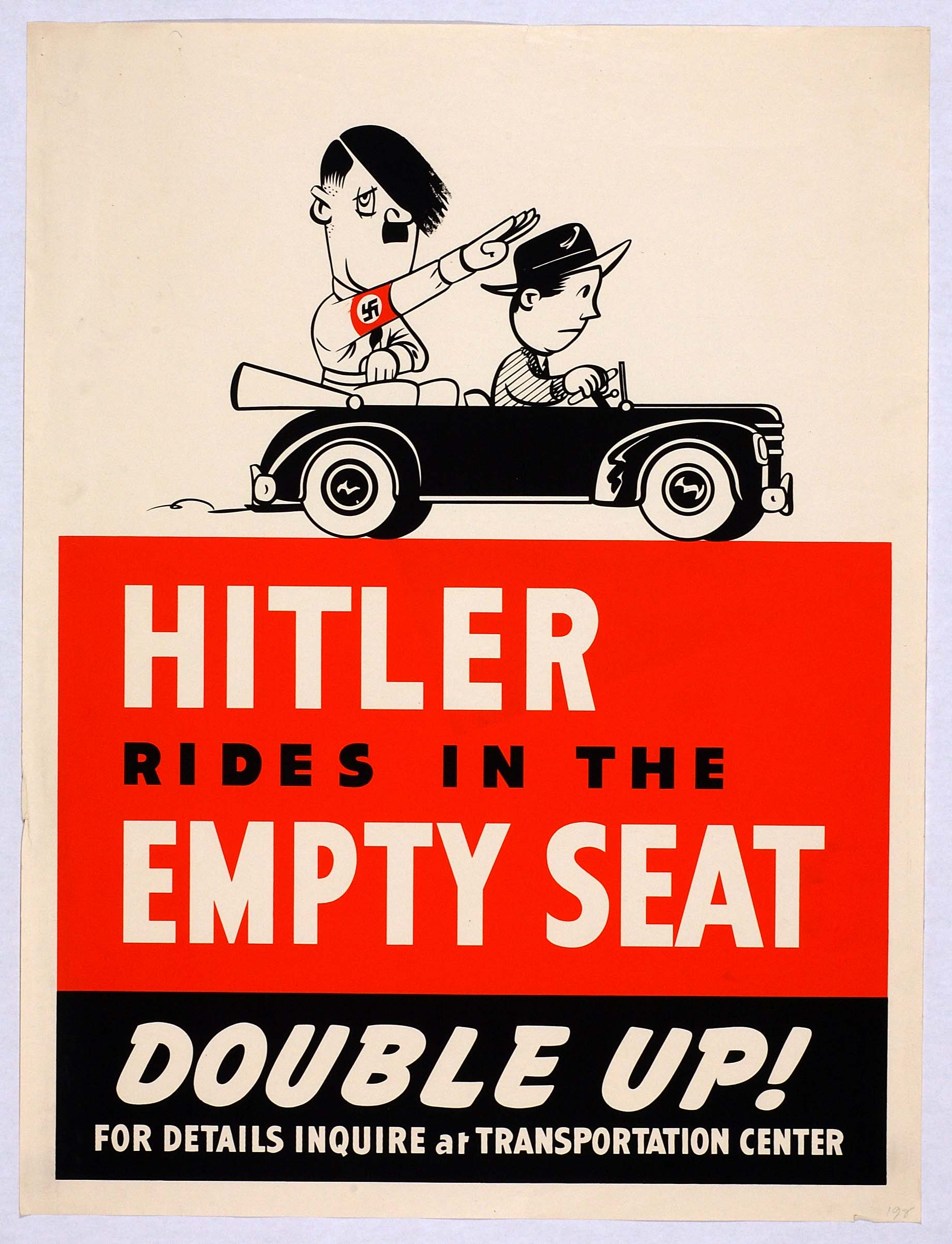 the propaganda of wwii During active american involvement in world war ii (1941–45), propaganda was used to decrease support for the war and commitment to an allied victory.