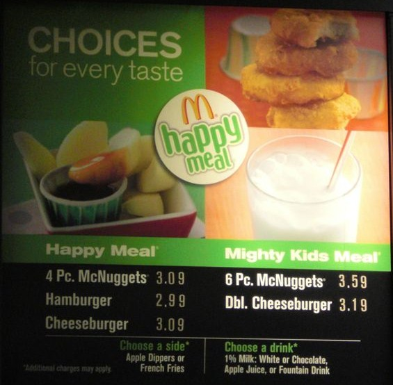 McDonalds Is Upping Childrens Serving Size Say Hello To The Mighty Meal