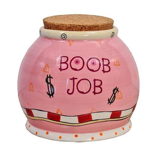 boob job money box