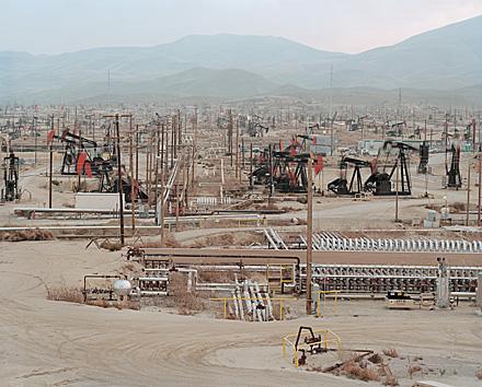 Burtynsky Oil Fields Oil Fields in Mckittrick