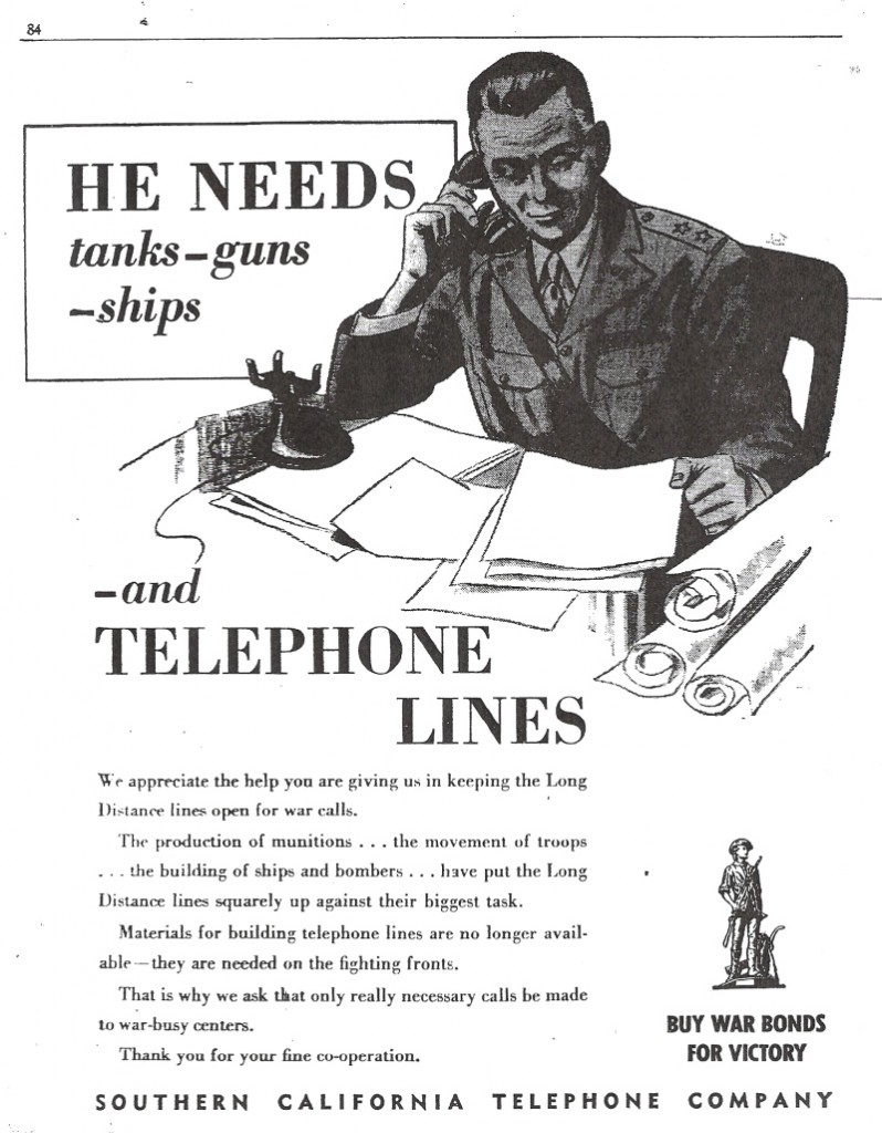 World War II Propaganda to Stay Off the Phones - Sociological Images