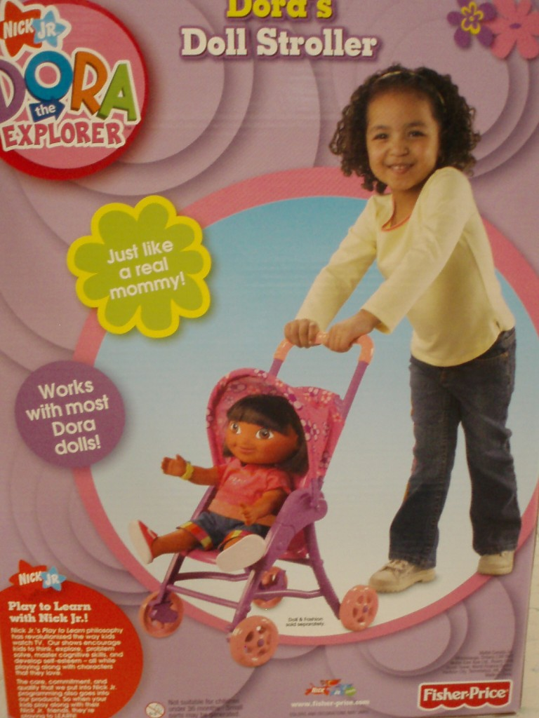 "Dora's Doll Stroller so you can be ""Just like a real mommy!"": dora-7"