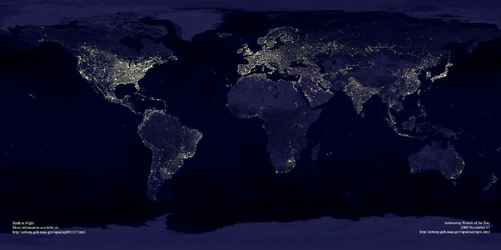 lights_earth