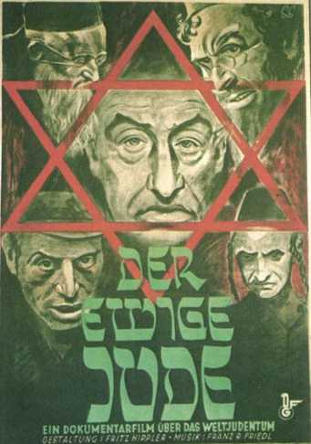 Nazi_poster_Jew_Der_Sturmer_antisemitism_juutalaisvainot-bloodlibel_Wandering_Jew_propaganda_60