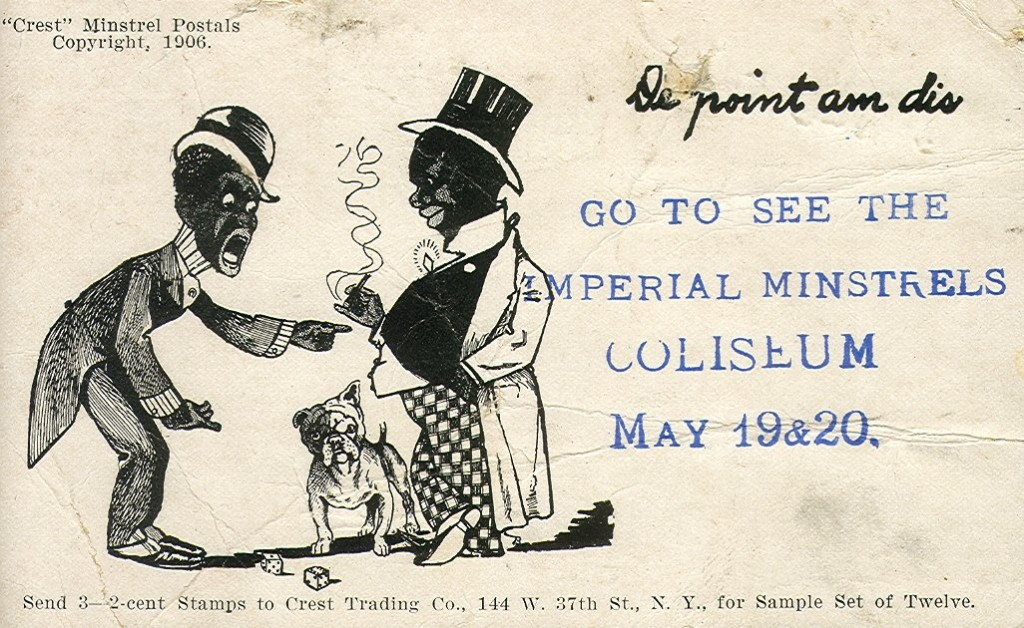 ImperialMinstrelsPostcard