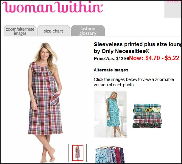 Large Clothes on Small Women: A Plus-Size Marketing Mystery ...