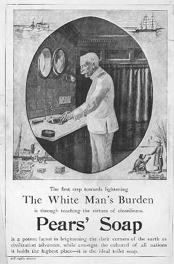 Colonialism, Soap, and the Cleansing Metaphor - Sociological