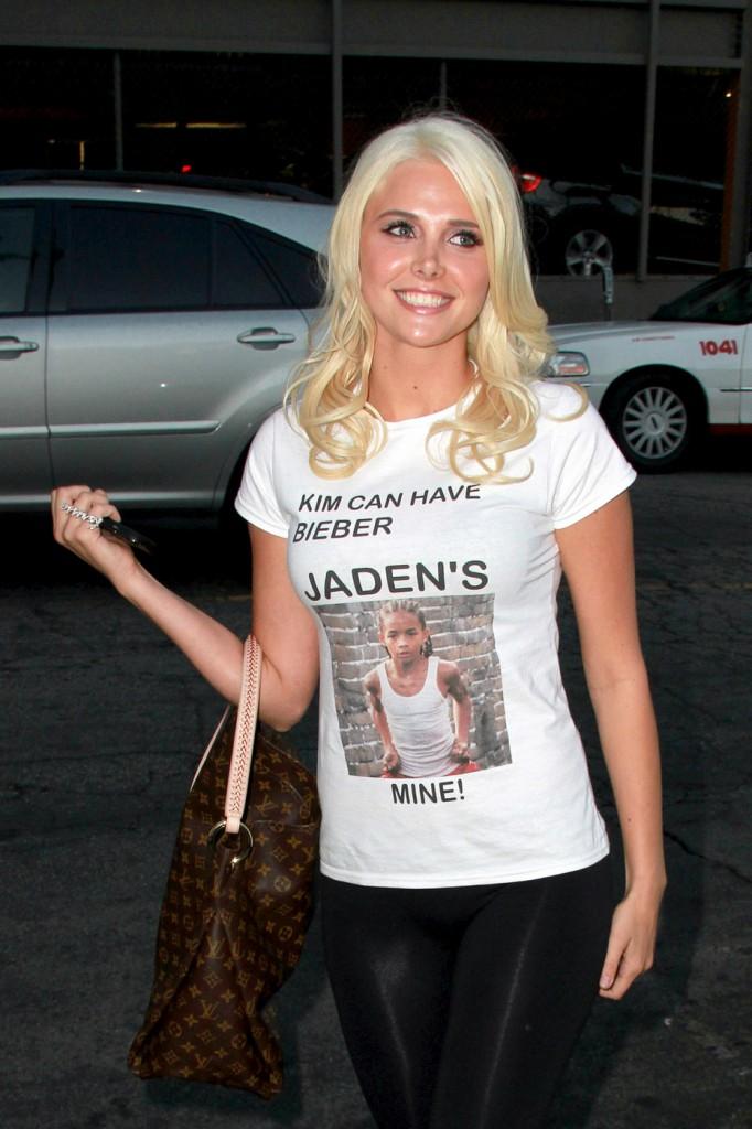 Justin Bieber & Jaden Smith : Underage boys and sex objects for older women? Karissa_shannon_jaden-682x1024