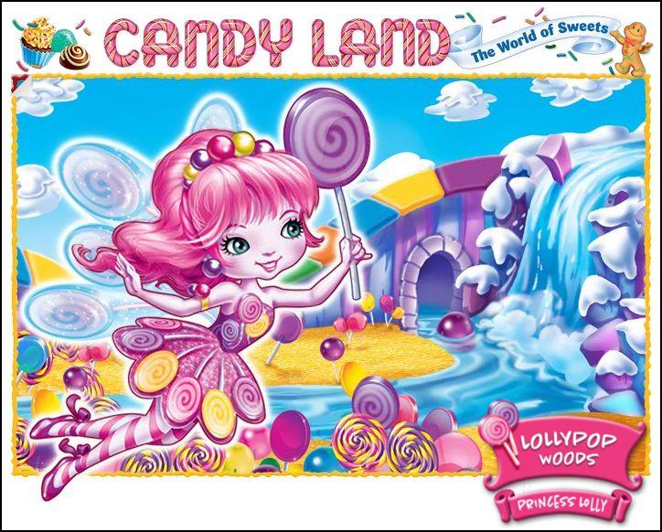 Candyland characters duke of swirl