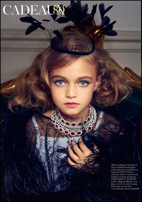 Vogue French Magazine Subscription: Adultification & Sexualization Of Girls In French Vogue