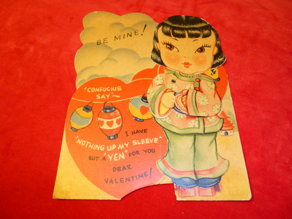 Racist vintage valentines day cards asians sociological images 1 4 bookmarktalkfo Gallery