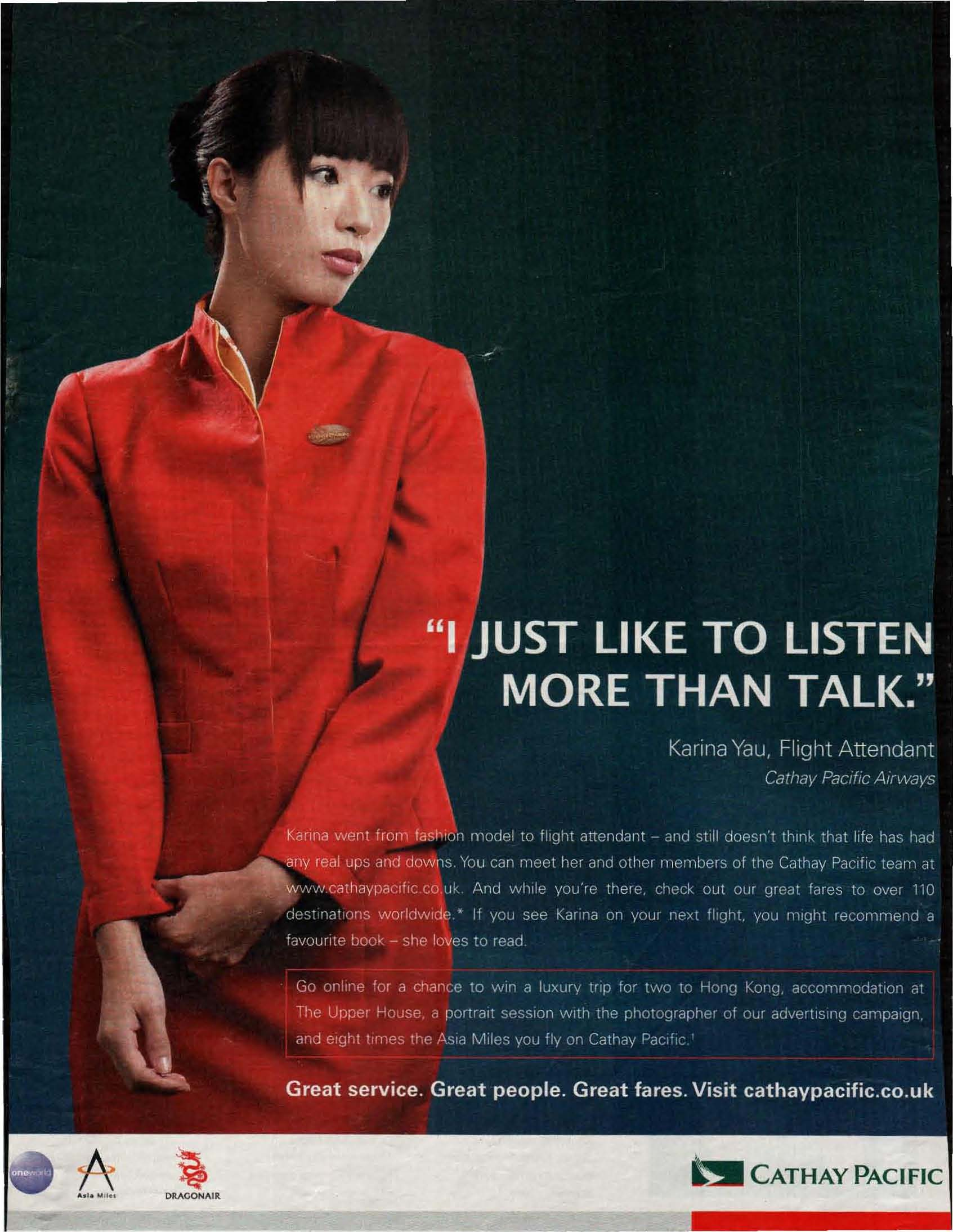 meet the team cathay pacific airways reviews
