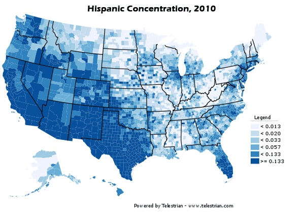 2010 Census Data on RacialEthnic Populations Sociological Images