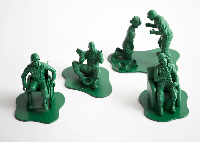 Little Green Army Men and the Realities of War (Trigger ...