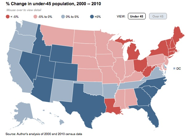 U S Population Aging By State Latinos Push For Political Influence And More