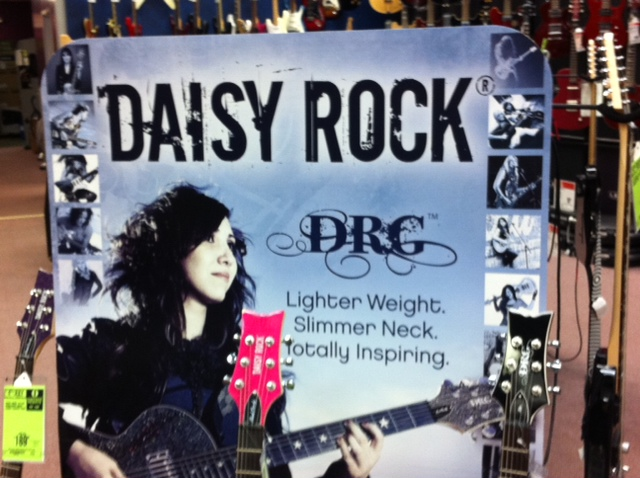 Daisy Rock Guitars: Why Size is a Better Measure than Sex