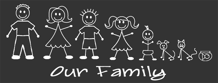 Car Window Stickers Family